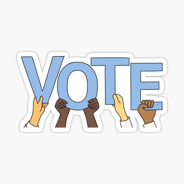 Vote Blue Sticker