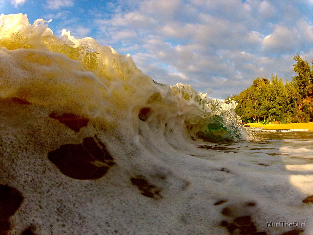 Frothy wave by MurfTheSurf