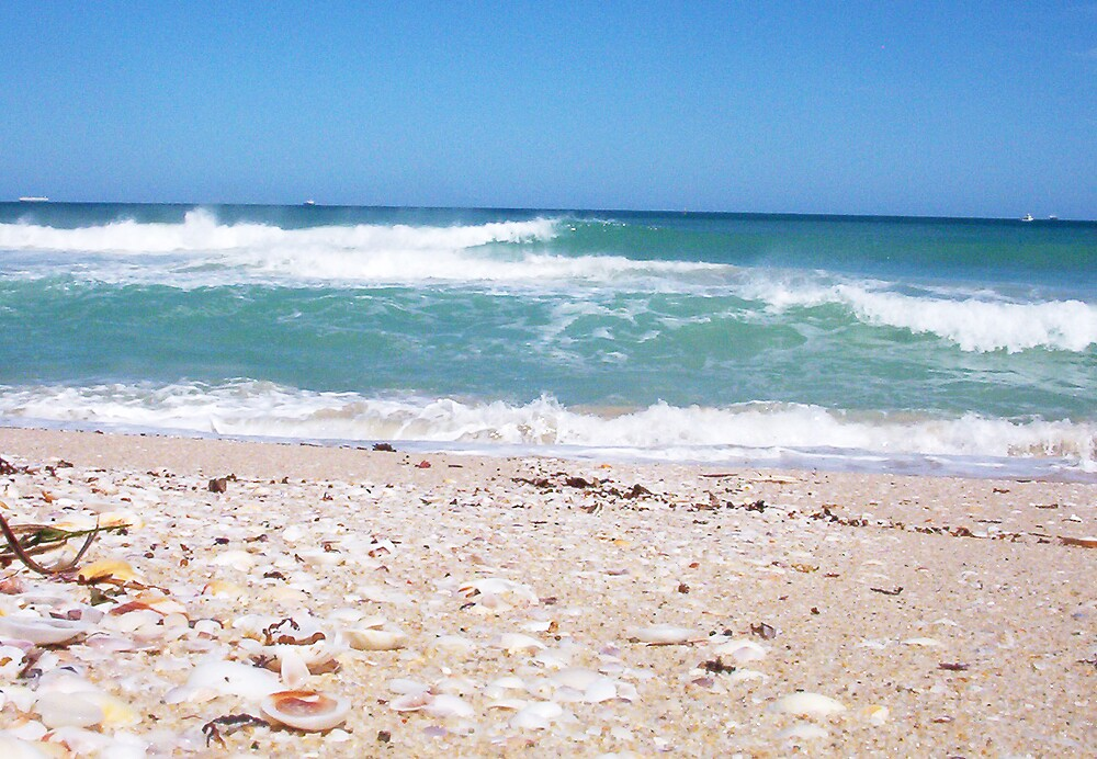 Perfect Wave With Shingle Two -  10 10 12 by Robert Phillips