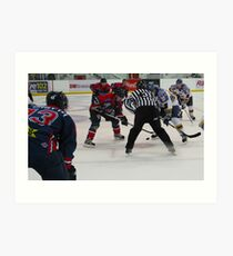 Jolly Hockey Sticks Art Print