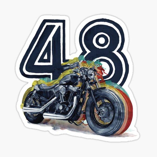 Harley Davidson 48 Sticker