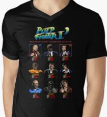 Pulp Fighter II: Motherfuckin' Champion Edition Men's V-Neck T-Shirt