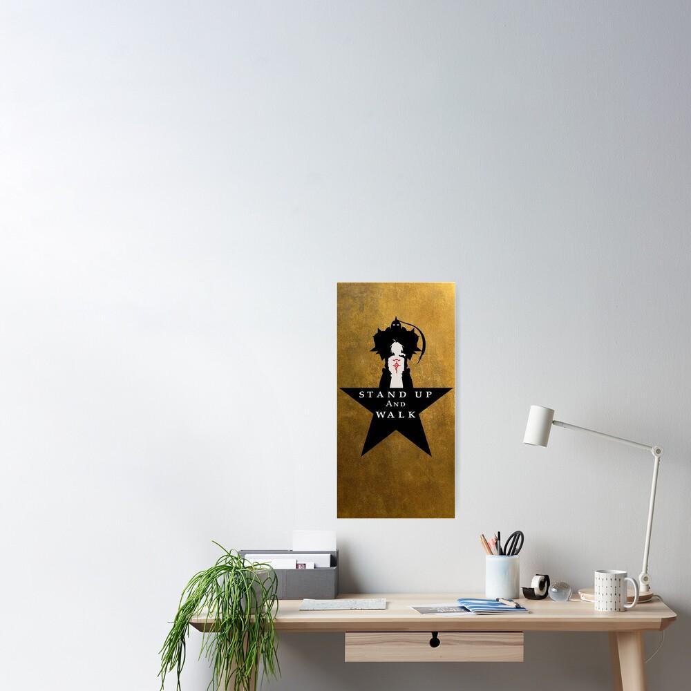 "FullMetal 4 Ham: ""Stand Up"" Poster"
