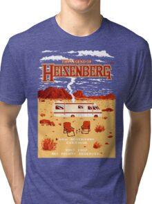 The Legend of Heisenberg Tri-blend T-Shirt