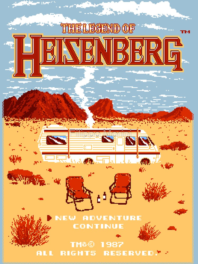 The Legend of Heisenberg | Unisex T-Shirt