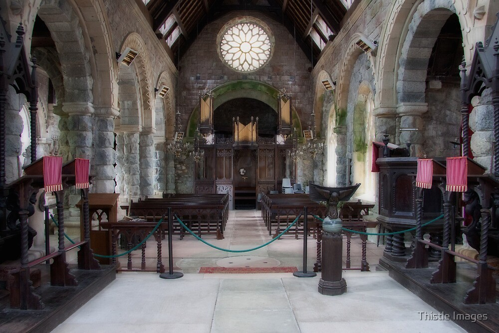 St Conans Interior by Thistle Images