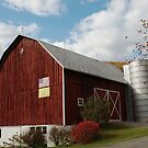 the front side of my barn by Penny Fawver