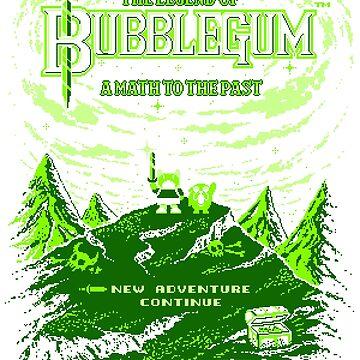 The Legend of Bubblegum by filippomorini