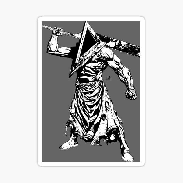 Pyramid head Sticker