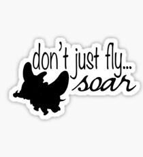 Dumbo - Don't Just Fly... Soar Sticker