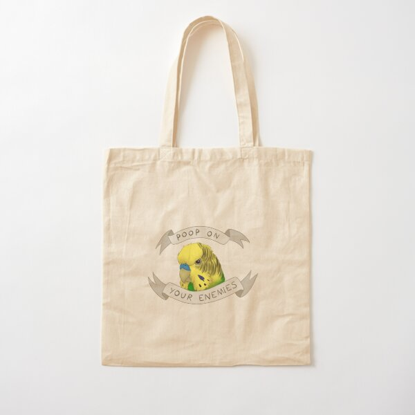 Poop on your Enemies Cotton Tote Bag