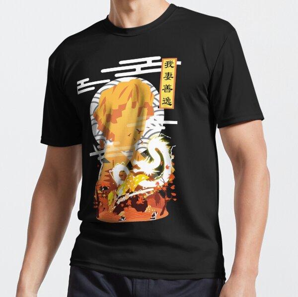 Zenitsu Minimalist Active T-Shirt