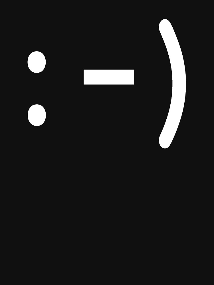 emoticon I - White by rupertrussell