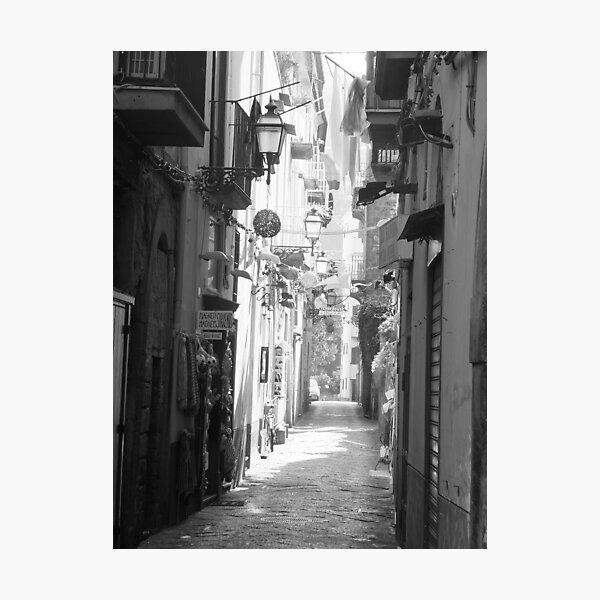 Sorrento street scene Photographic Print