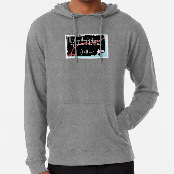 SOULMATES - THE UNTAMED QUOTE Lightweight Hoodie