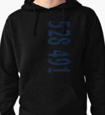 Inception - 528491 Blue Pullover Hoodie