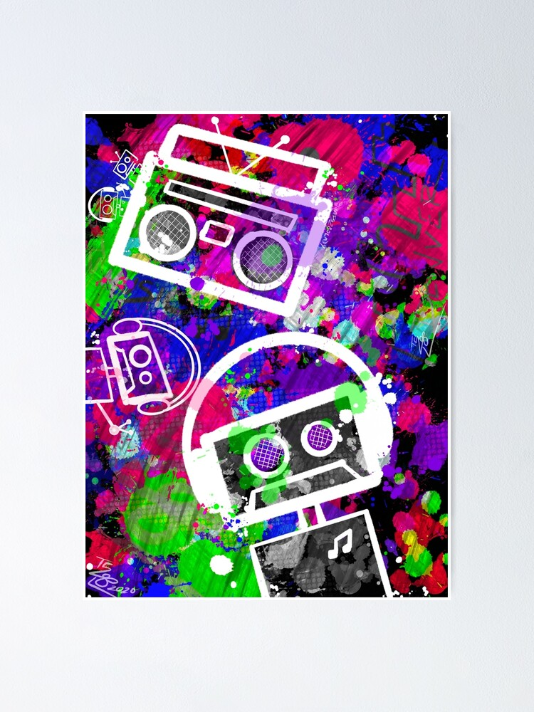 Alternate view of Boombots Comin' from the Speakerbox Poster