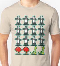 Badger Badger Mushroom Snake Unisex T-Shirt