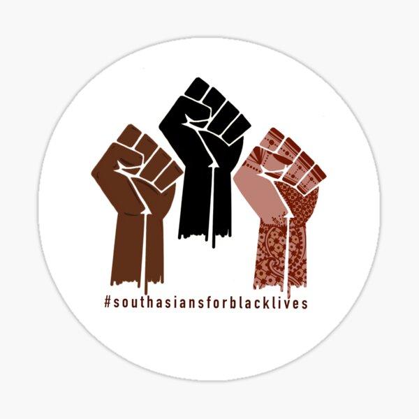 South Asians for Black Lives Fundraiser Sticker