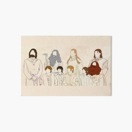 The Fellowship Art Board Print