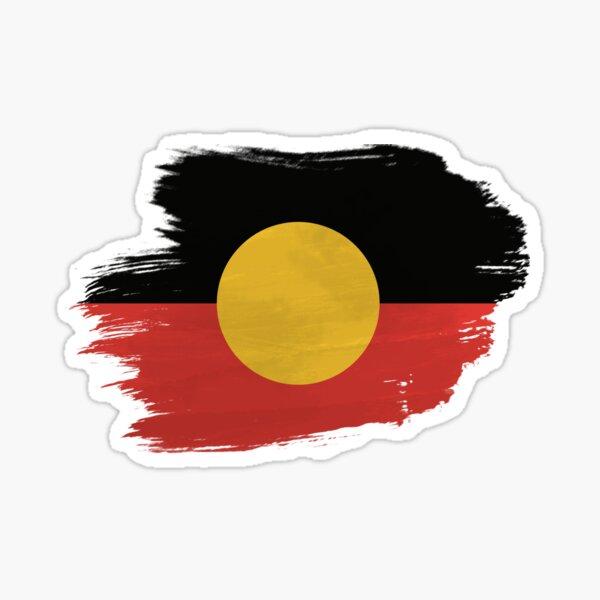 Aboriginal Flag Sticker