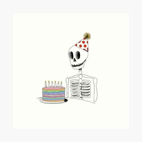 Happy Death Day Art Print