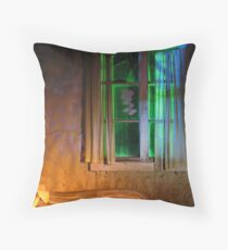 21.10.2012: One Night in Abandoned Farm House I Throw Pillow