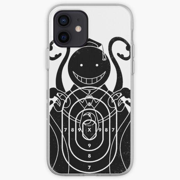 Assassination Classroom - Koro Sensei cible Coque souple iPhone