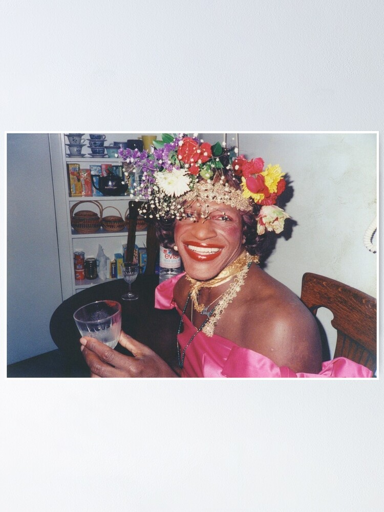 Poster ''Marsha P. Johnson - Queer Story': autre vue