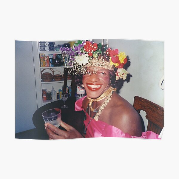 Marsha P. Johnson - Queer History Poster