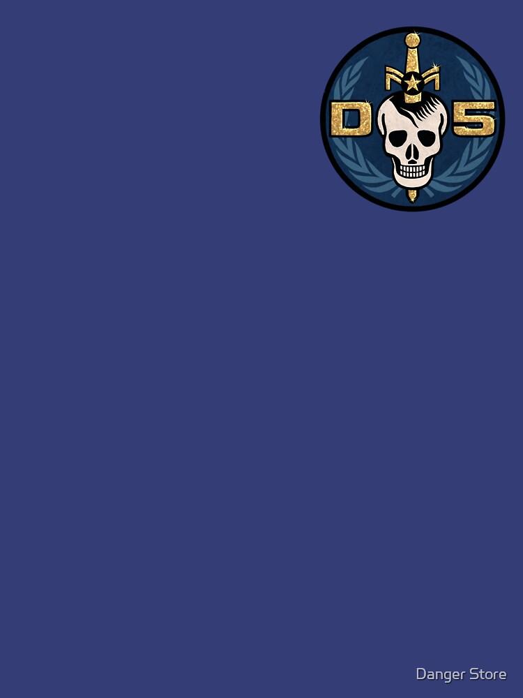 Danger 5 Emblem (Pocket) | Unisex T-Shirt