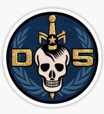 Danger 5 Emblem (Pocket) Sticker