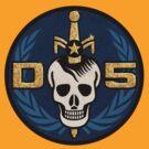 Danger 5 Emblem (Chest) by Danger Store