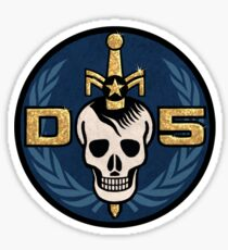 Danger 5 Emblem (Chest) Sticker