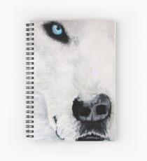 Life Companion (Light Blue) (full) Spiral Notebook