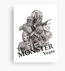 The Monster Years Metal Print
