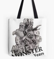 The Monster Years Tote Bag
