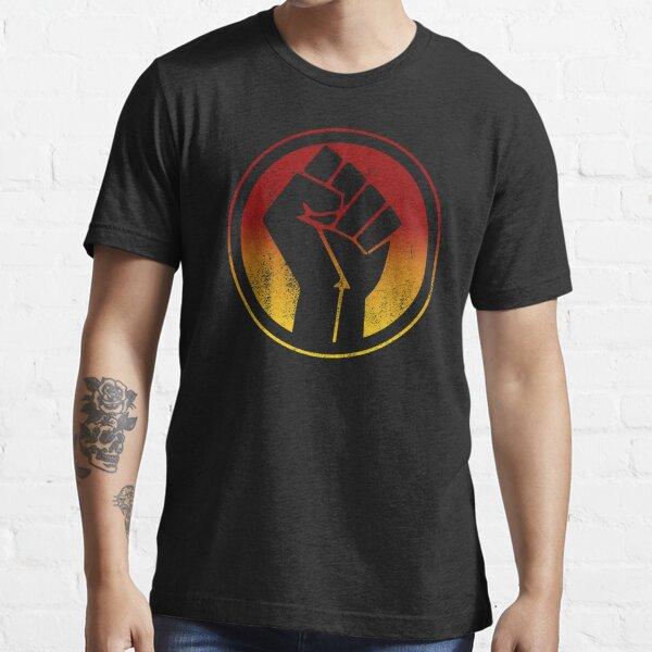 Indigenous Black Lives Matter Fist (distressed) Essential T-Shirt