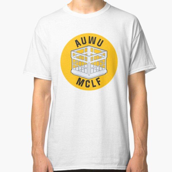 AUWU MCLF SOLIDARITY PRICE (yellow) Classic T-Shirt