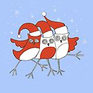 Christmas Birds by Anni Morris