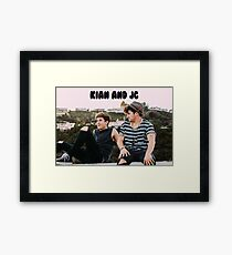 Kian and Jc Rooftop  Framed Print