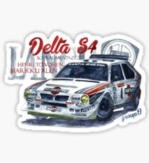 Pegatina Rally Group B-Lancia Delta S4