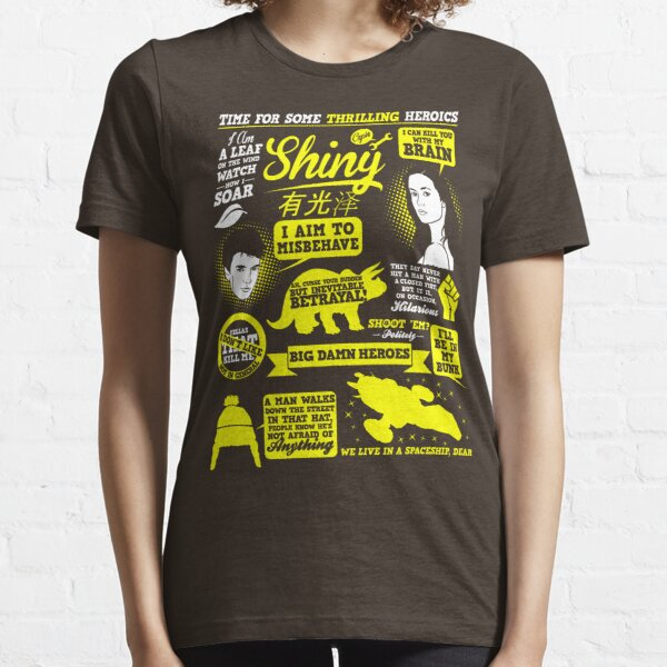 Shiny Quotes Essential T-Shirt