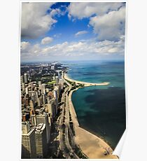 Chicago & Lake Michigan  Poster