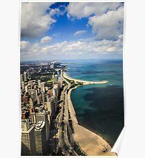 Chicago & Lake Michigan  Poster