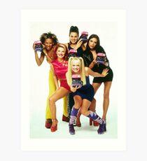 Spice Girls Art Print