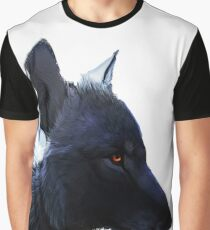 Wolf (Full Work) [drawing] Graphic T-Shirt