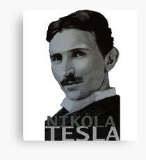 NikolaTesla Canvas Print