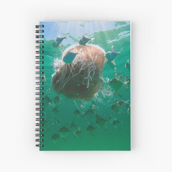 Big Ol Jellyfish Spiral Notebook