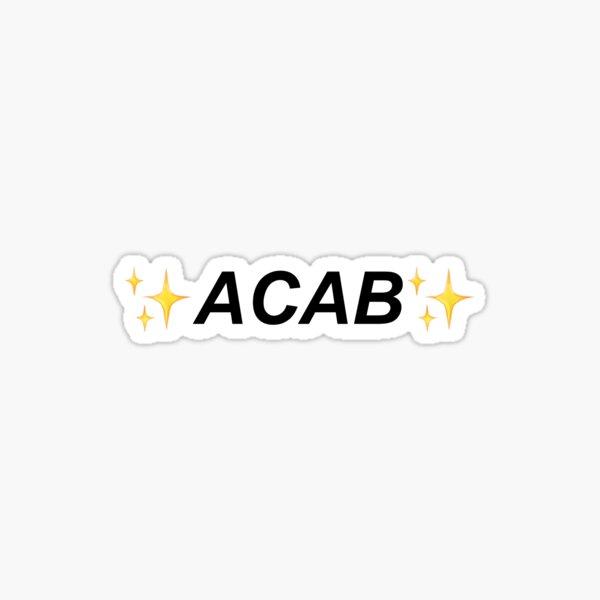 acab! Sticker